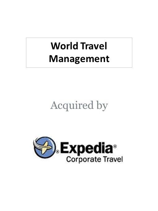Expedia acquires World Travel Management