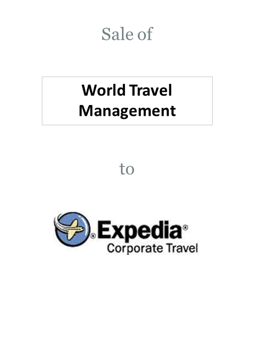 World Travel Management sold to Expedia