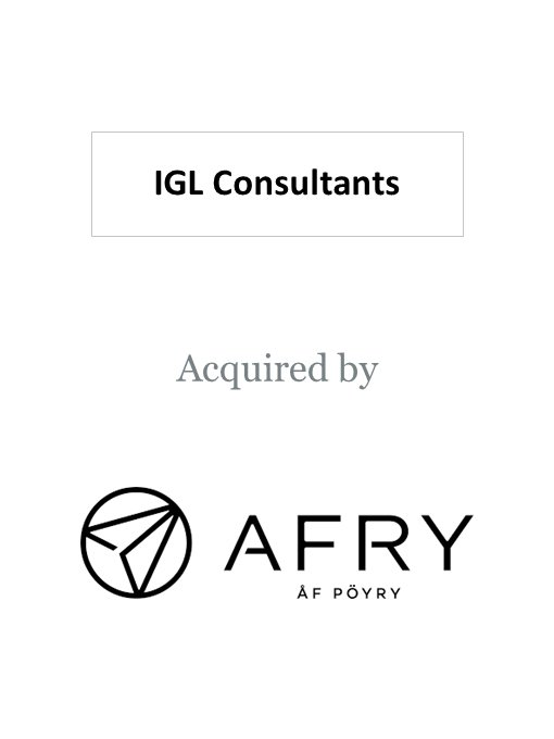 Pöyry (Afry) acquires IGL Consultants