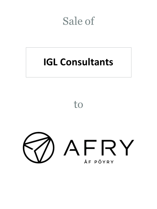 IGL Consultants sold to Pöyry (Afry)