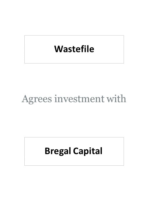 WasteFile (Reconomy) agrees investment with Bregal Capital