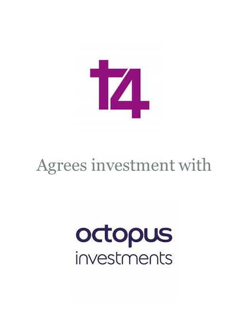 T4 Media agrees investment with Octopus Investments