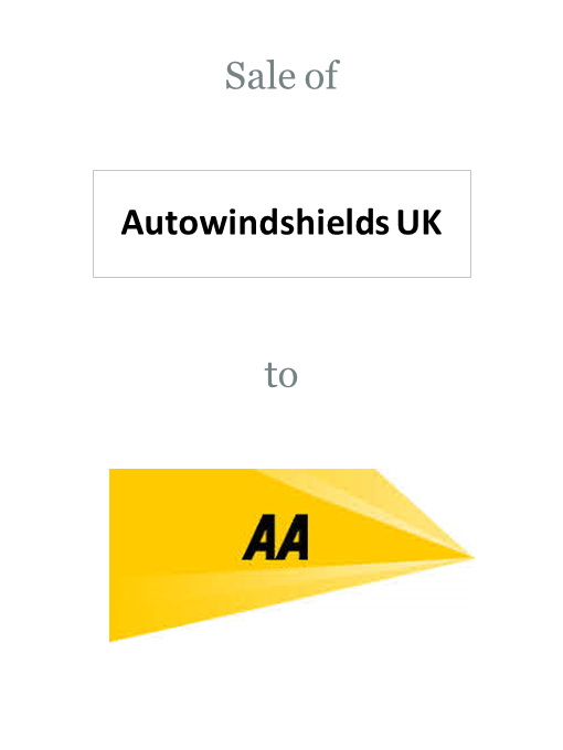 AutoWindshields UK sold to The Automobile Association (AA)