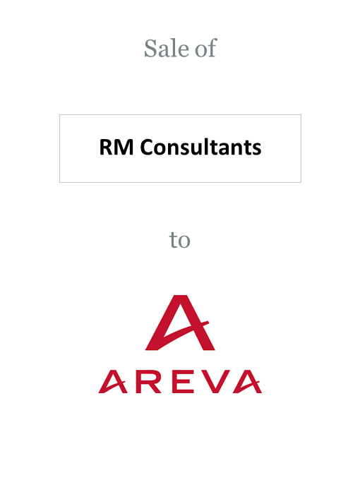 RM Consultants sold to Areva