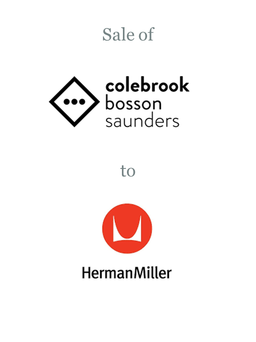 Colebrook Bosson Saunders sold to Herman Miller