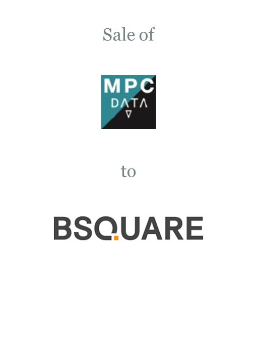 MPC Data sold to Bsquare Corporation
