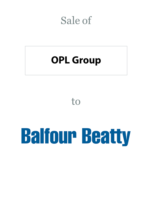 Opl Group sold to Balfour Beatty