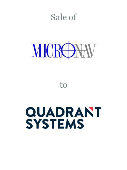 Micro Nav sold to Quadrant Group