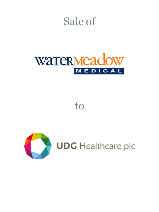 Watermeadow Medical sold to UDG Healthcare plc