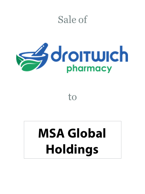 Droitwich Pharmacy sold to MSA Holdings