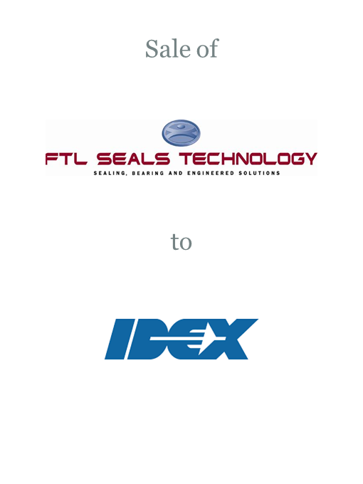FTL Seals Technology sold to IDEX Corporation