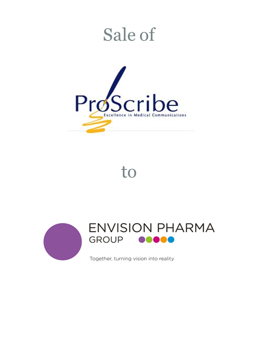 Proscribe sold to Envision Pharma Group
