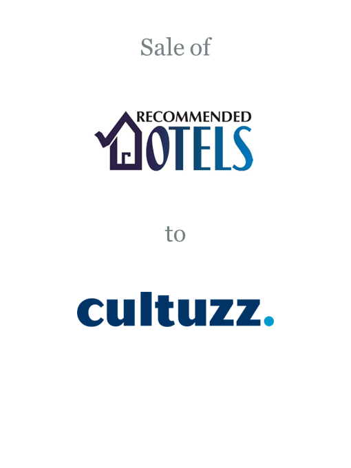 Recommended Hotels sold to Cultuzz Digital Media