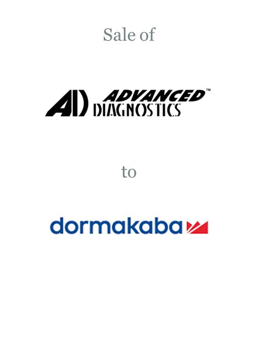 Advanced Diagnostics sold to Dormakaba
