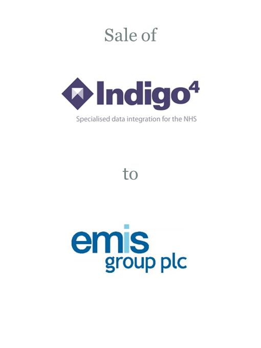Indigo4 Systems sold to EMIS Group plc