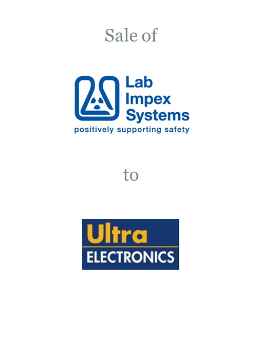 Lab Impex Systems sold to Ultra Electronics plc