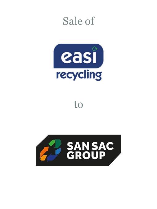Easi Recycling sold to San Sac Group