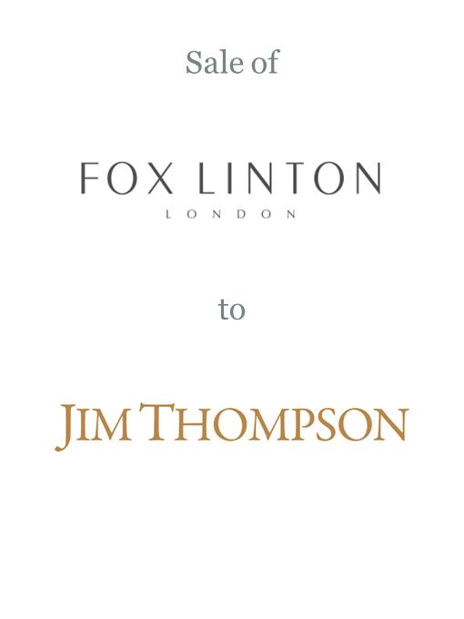 Fox Linton sold to Jim Thompson