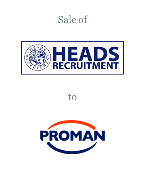 Heads Recruitment sold to Proman Group