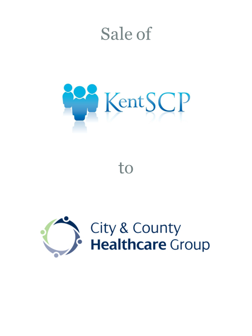 Kent Social Care Professionals sold to City and County Healthcare Group