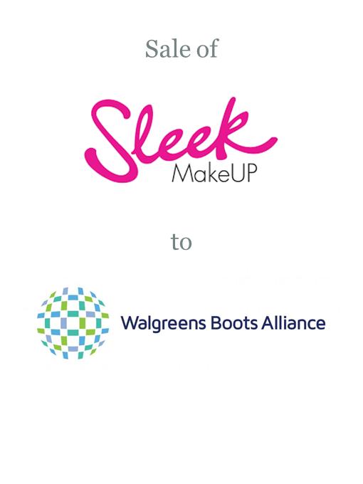 Sleek Makeup sold to Walgreens Boots Alliance