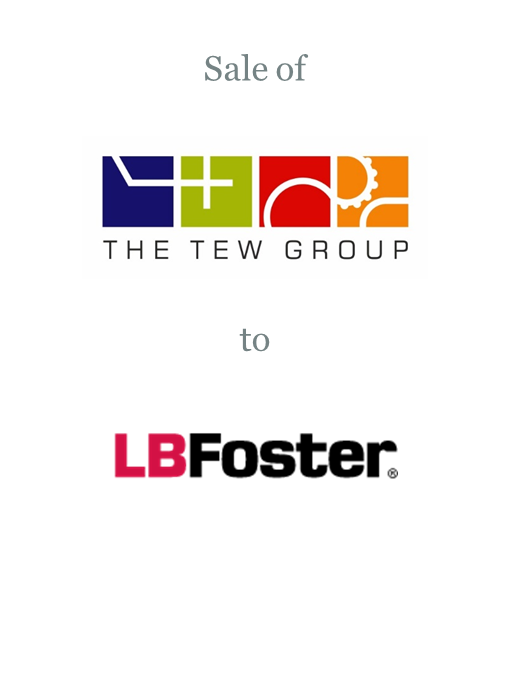 TEW Engineering sold to LB Foster