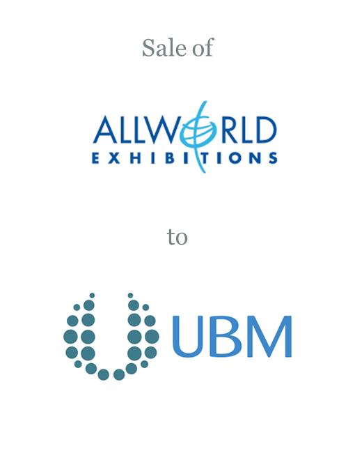 Allworld Exhibitions sold to UBM plc