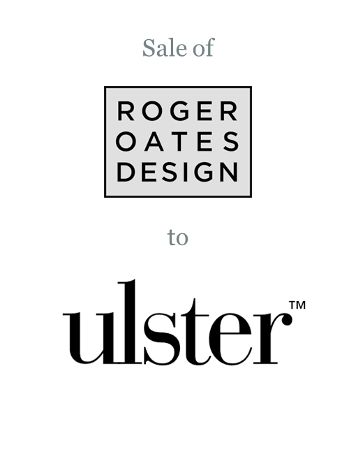 Roger Oates Design sold to Ulster Carpets