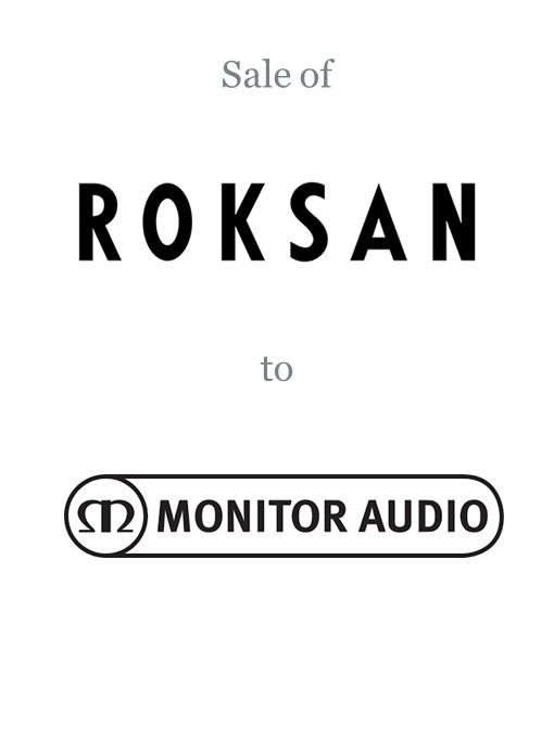 Roksan sold to Monitor Audio