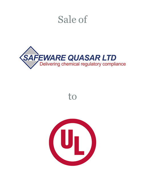 Safeware Quasar sold to UL