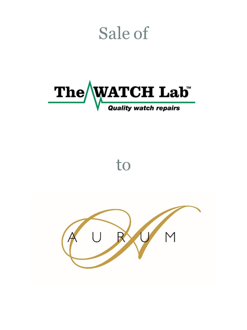 The WATCH Lab sold to Aurum Group
