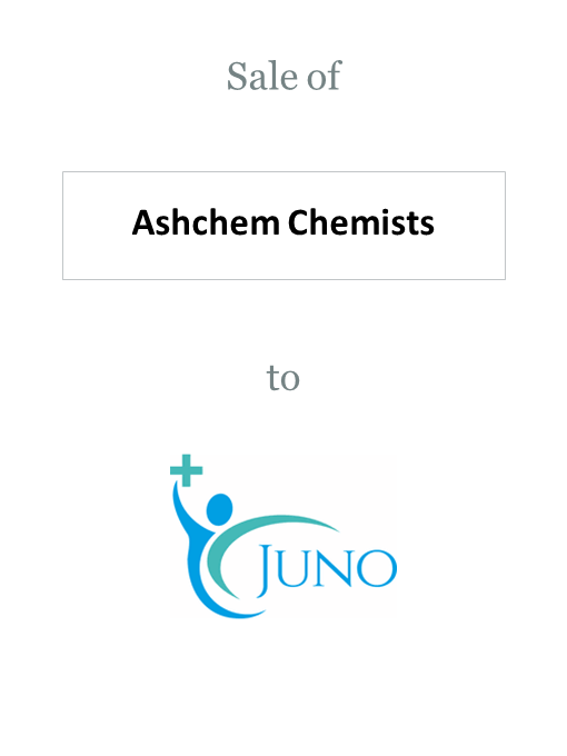 Ashchem Chemists sold to Juno Health