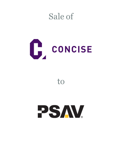 Concise sold to PSAV