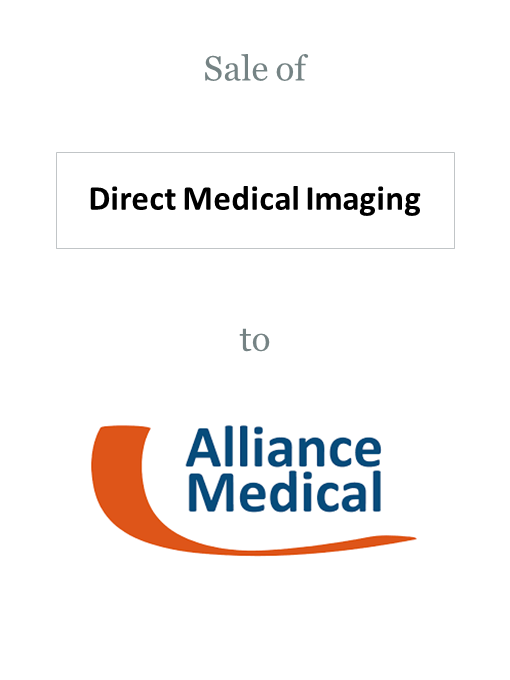 Direct Medical Imaging sold to Alliance Medical Group