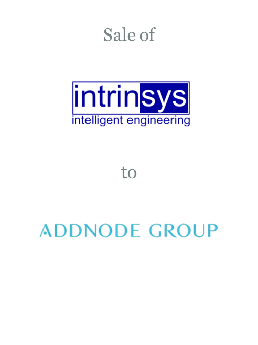 Intrinsys sold to Addnode Group