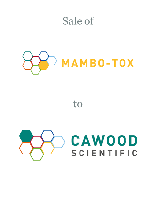 Mambo-Tox sold to Cawood Scientific