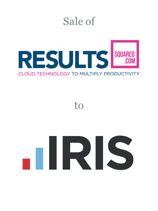 Results Squared sold to IRIS Software Group