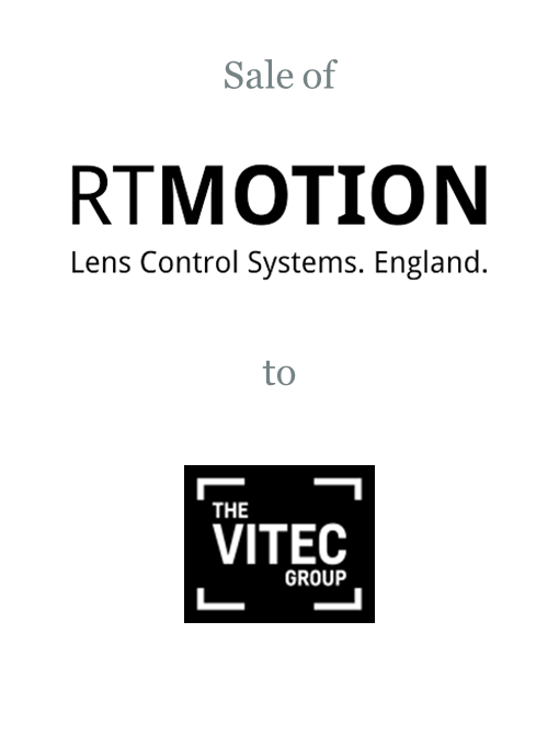 RT Motion Systems sold to Vitec Group