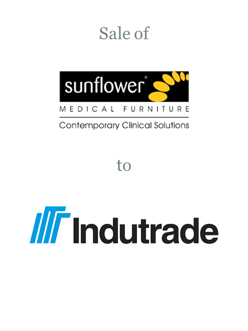 Sunflower Medical sold to Indutrade