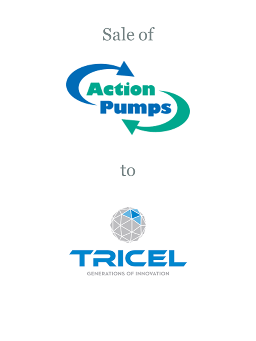 Action Pumps sold to Tricel