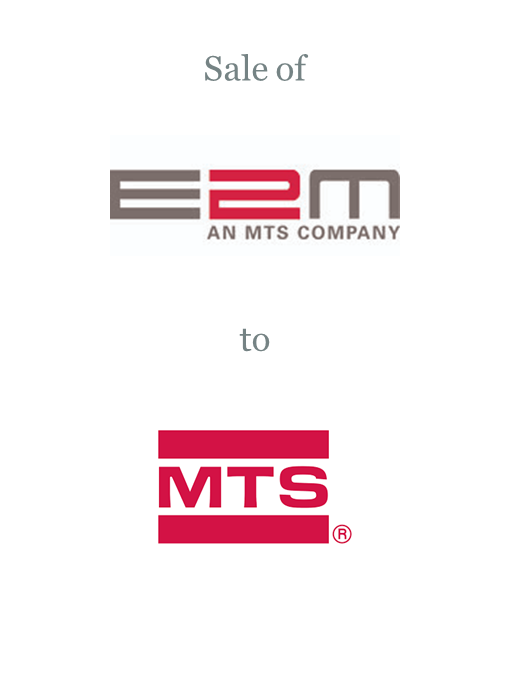 E2M Technologies sold to MTS Systems Corporation