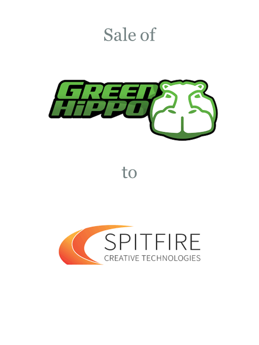 Green Hippo sold to Spitfire Creative Technologies