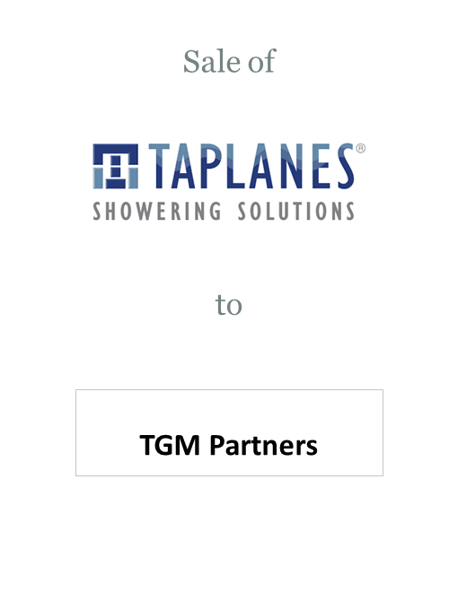 Taplanes sold to TGM