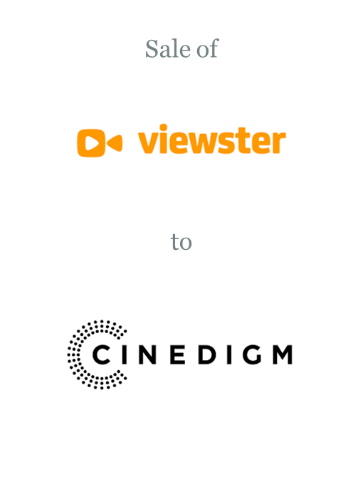 Viewster and Viewster Anime sold to Cinedigm