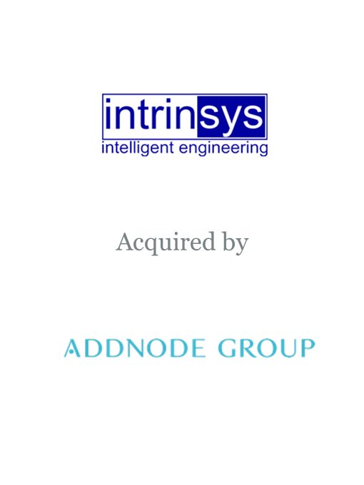 Addnode Group acquires Intrinsys