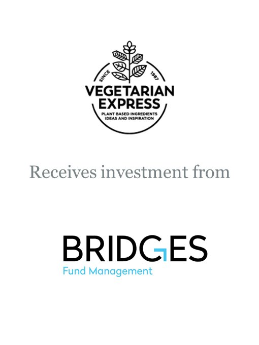 Bridges Ventures invests in Vegetarian Express