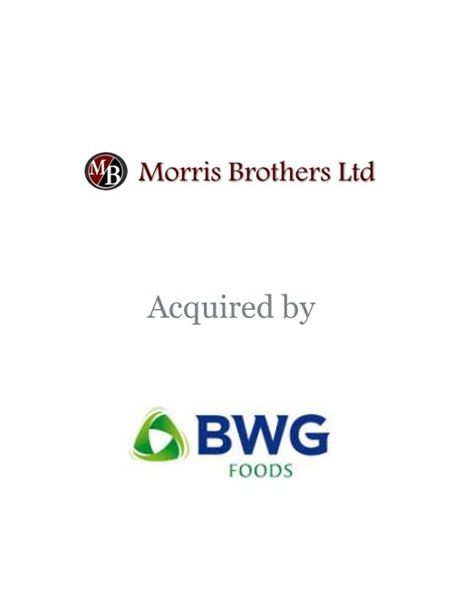 BWG Foods acquires Morris Brothers Wholesale