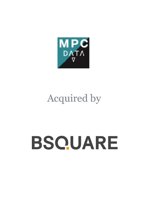 Bsquare Corporation acquires MPC Data
