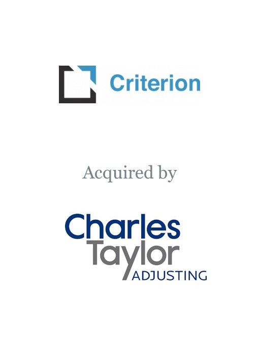 Charles Taylor Adjusting acquires Criterion Adjusters