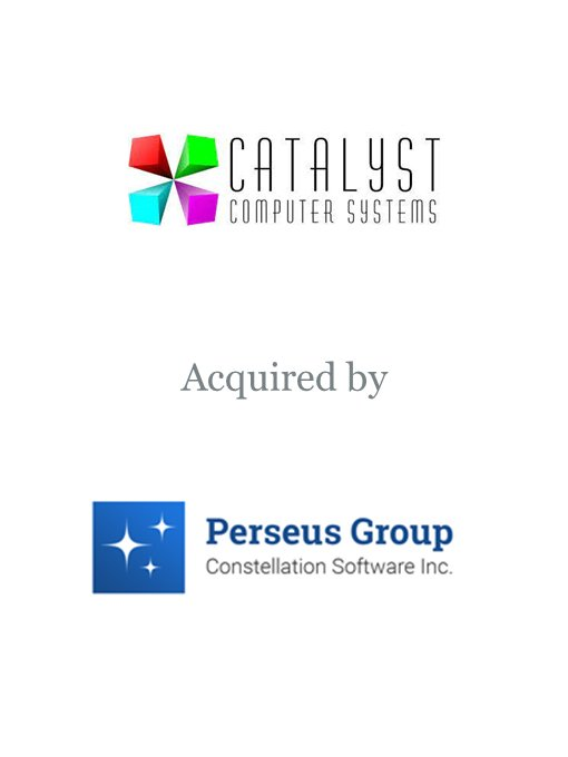Constellation Software's Perseus Group acquires Catalyst Computer Systems